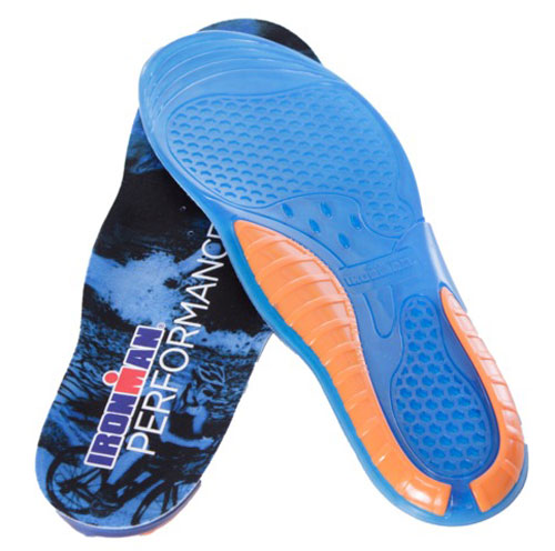 Plantillas IRONMAN PERFORMANCE GEL azul 60002