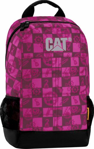 Mochila CAT MILLENNIAL rosa y negro 83241.287