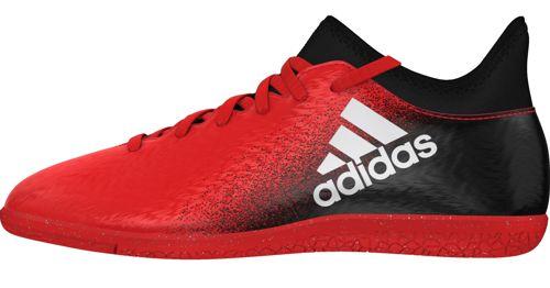 Bota fútbol sala de niño ADIDAS X 16.3 IN J roja y negra BB5718 ... 78c0bddf01cd2