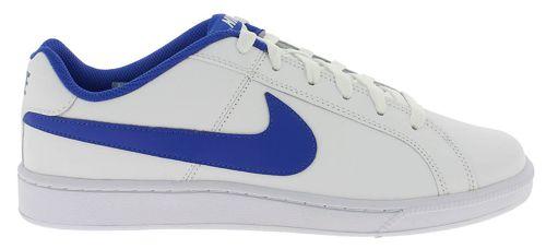Zapatillas NIKE COURT ROYALE blanco y azul 749747-141