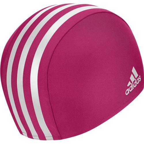 Gorro de piscina de niña ADIDAS INFINITEX rosa y blanco M66935
