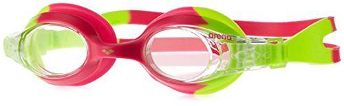 Gafas de natación de niña ARENA X-LITE verde y rosa 092377 096