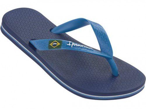 Sandalia de dedo IPANEMA CLASSIC BRASIL II AD azul IP 80415