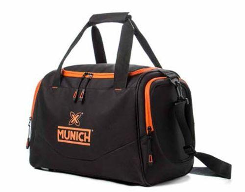 Bolsa MUNICH TEAMBAG S negra y naranja 6574007