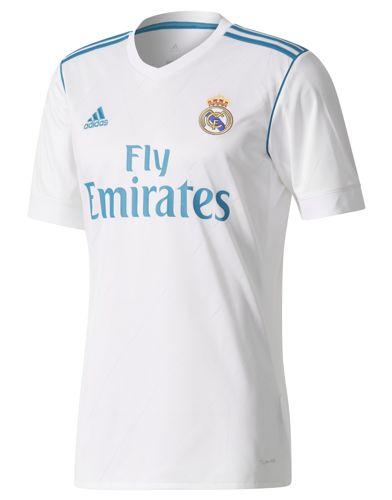 Camiseta ADIDAS RÉPLICA PRIMERA EQUIPACION REAL MADRID 2017/2018 blanca B31109