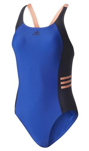 Bañador de mujer ADIDAS COLORBLOCK azul BS0191