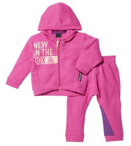 Chandal bebe REEBOK INFANT SET rosa BR7083