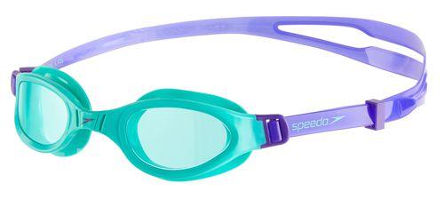 Gafas de piscina de niño SPEEDO FUTURA PLUS verde y azul 8-09010B858