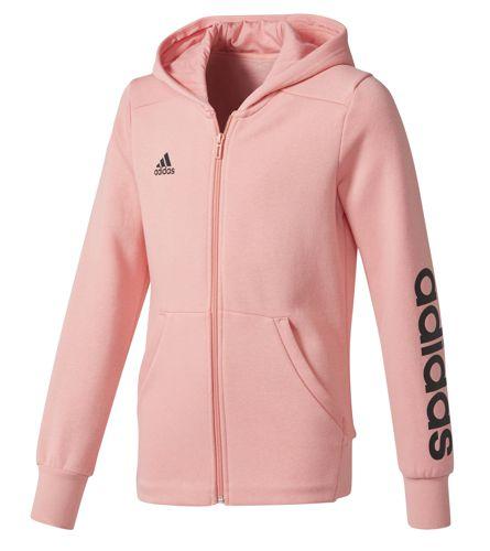 Chaqueta de niña ADIDAS LINEAR rosa CF1693