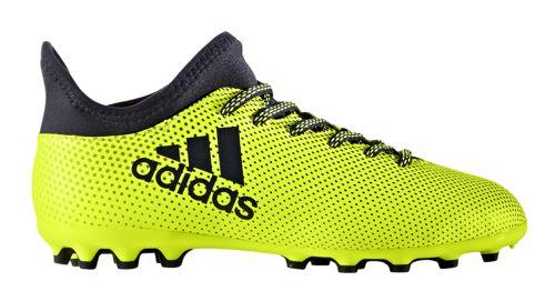 low priced 9b0cb 72bb3 Bota de fútbol multitaco de niño ADIDAS X 17.3 AG J amarillo S82462 ...