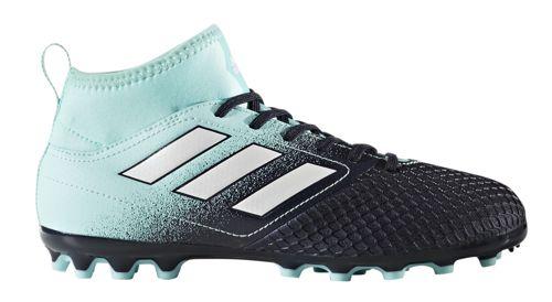 Bota de fútbol multitaco de niño ADIDAS ACE 17.3 AG J negro y azul BY2296
