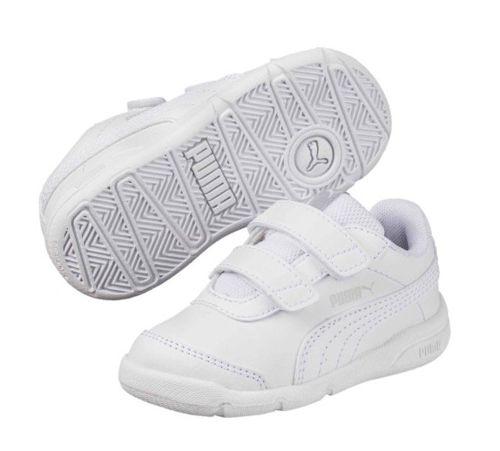 Zapatillas de niño PUMA STEPFLEEX 2 SL V PS blancas 190114_01