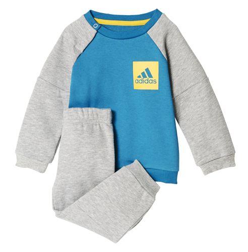 Chandal de bebé ADIDAS SPORT FLEECE azul y gris CE9988