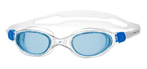 Gafas de piscina SPEEDO FUTURA PLUS blanca y azul 8-090093537