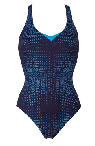 Bañador de mujer ARENA GINA azul 000011-708