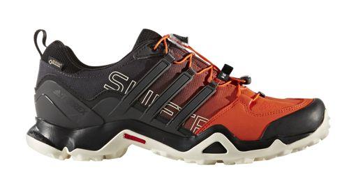 Zapato de montaña ADIDAS TERREX SWIFT R GTX naranja y negro BZ0604