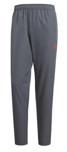 Pantalón ADIDAS CONDIVO 18 gris y naranja CV8254