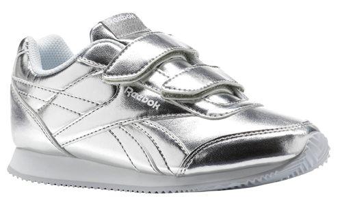 Zapatillas de niña REEBOK CLASSIC JOGGER 2.0 2V plateadas CN1344