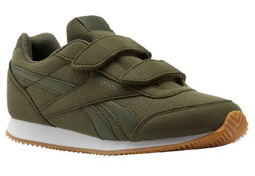 Zapatillas de niño REEBOK ROYAL CLASSIC JOGGER 2.0 2V verde CN1350