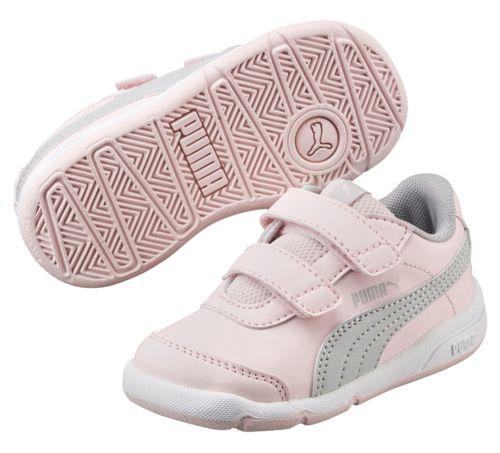 Zapatillas de niña PUMA STEPFLEEX 2 SL V PS rosa claro y gris 190114_10