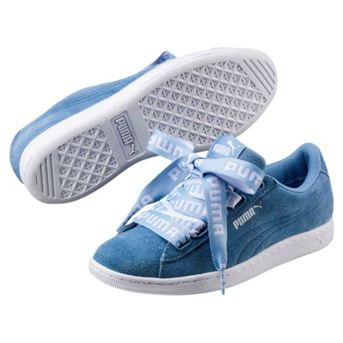 Zapatillas de mujer PUMA VIKKY RIBBON BOLD azules 365312_03