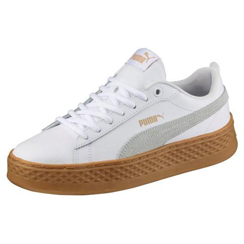 pumas blancas mujer zapatillas