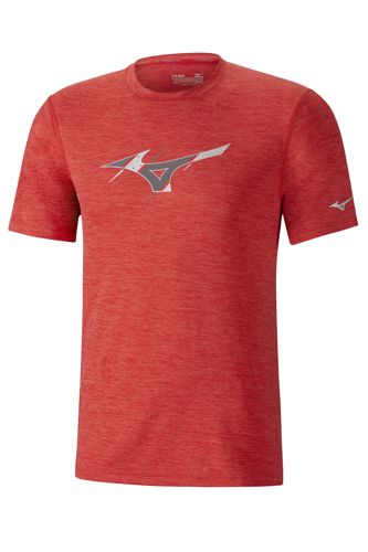 Camiseta MIZUNO IMPULSE CORE GRAPHIC roja J2GA800960