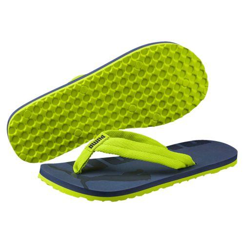 Sandalia de dedo de niño PUMA EPIC FLIP V2 marino y lima 360288-11; 362802-11