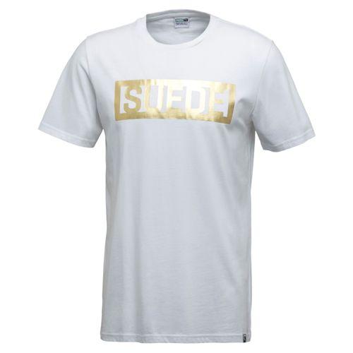 Camiseta deportiva de hombre PUMA SUEDE blanca 594893_02
