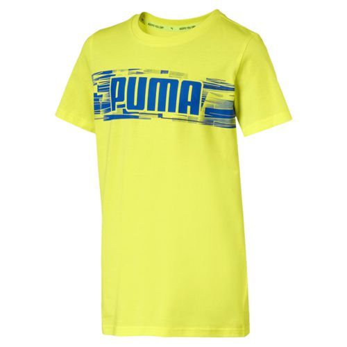 Camiseta de niño PUMA HERO amarilla 850118_19
