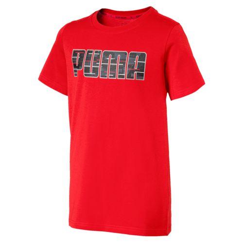 Camiseta de niño PUMA HERO roja 850118_42