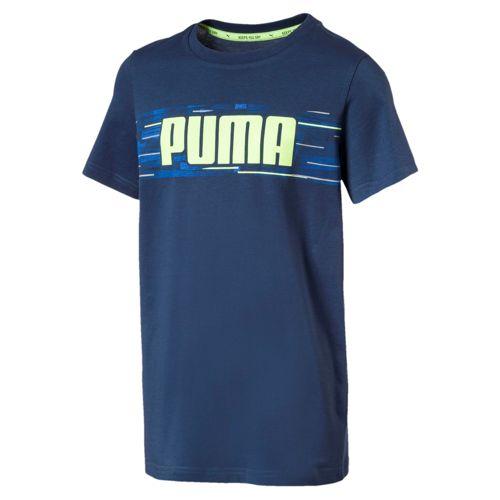 Camiseta de niño PUMA HERO azul 850118_50