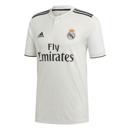 Camiseta réplica 1ª equipación ADIDAS REAL MADRID 2018/2019 blanca CG0550