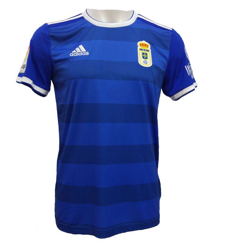 Camiseta réplica 1ª equipación de niño ADIDAS REAL OVIEDO 2018/2019 azul C8711
