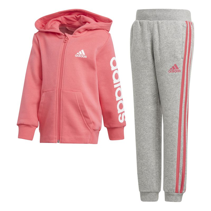 4c Niña Deportes De Adidas Ts Hojo Chandal Lk Op05q5w