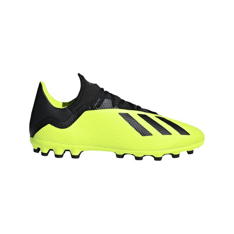 Bota de fútbol multitaco ADIDAS X 18.3 AG amarilla AQ0707