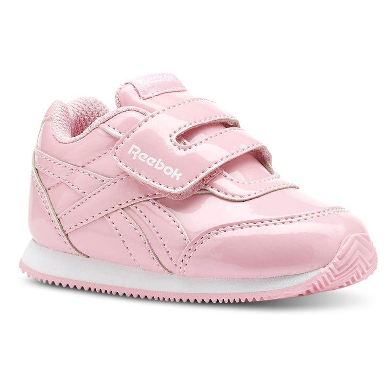 Zapatillas niña REEBOK ROYAL CLASSIC JOGGER rosa charol CN4964