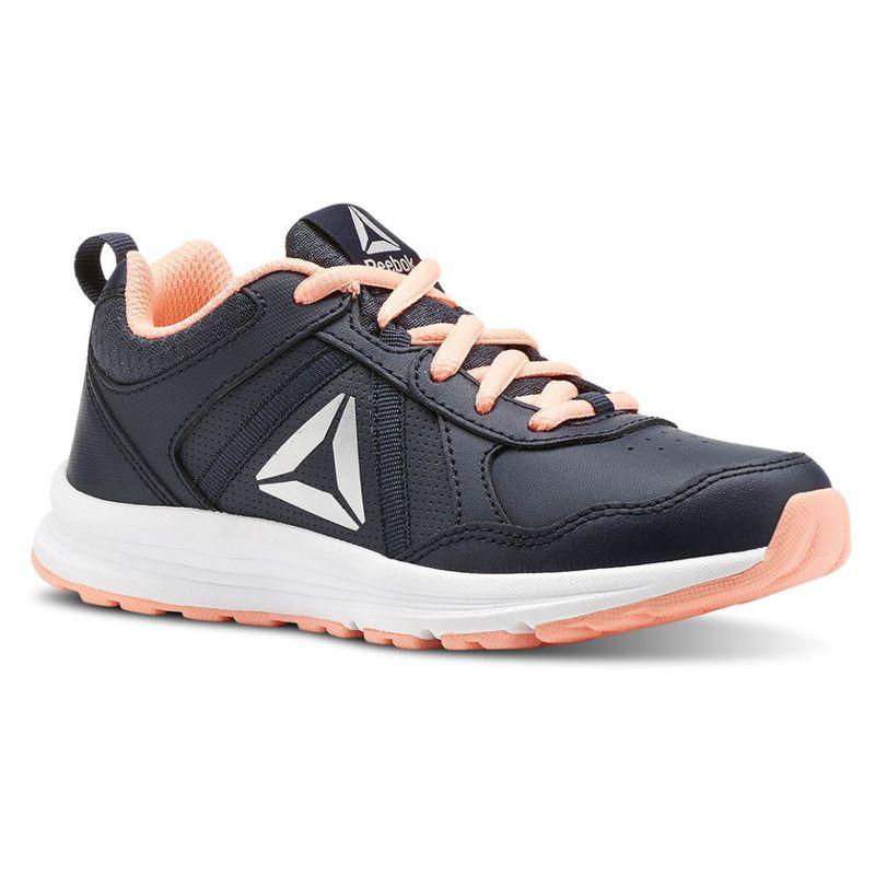 Zapatillas de niña REEBOK ALMOTIO 4.0 marino y rosa CN4231