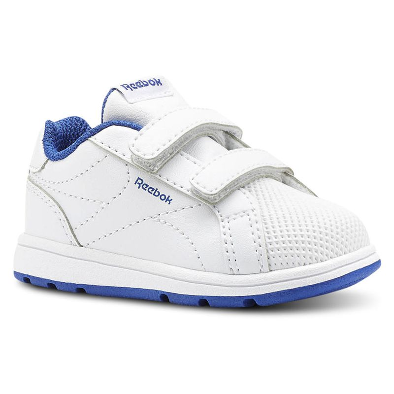 Zapatillas niño/a REEBOK ROYAL COMPLETE CLEAN blanco y azul CN4825