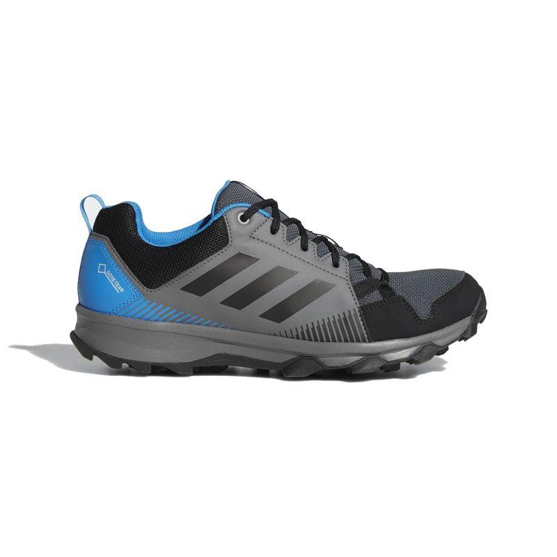 Zapatillas trail ADIDAS TERREX TRACEROCKER gris y negra AC7938