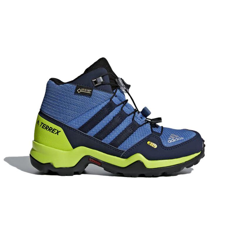 Bota de montaña de niño ADIDAS TERREX MID GTX azul CM7710