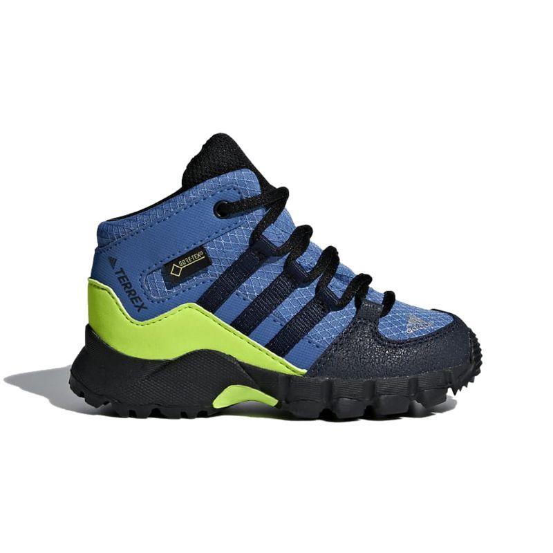 Bota de montaña de niño ADIDAS TERREX MID GTX azul D97655