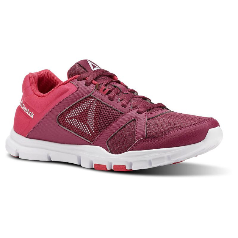 Zapatillas training de mujer REEBOK YOURFLEX TRAINETTE 10MT granate CN4731