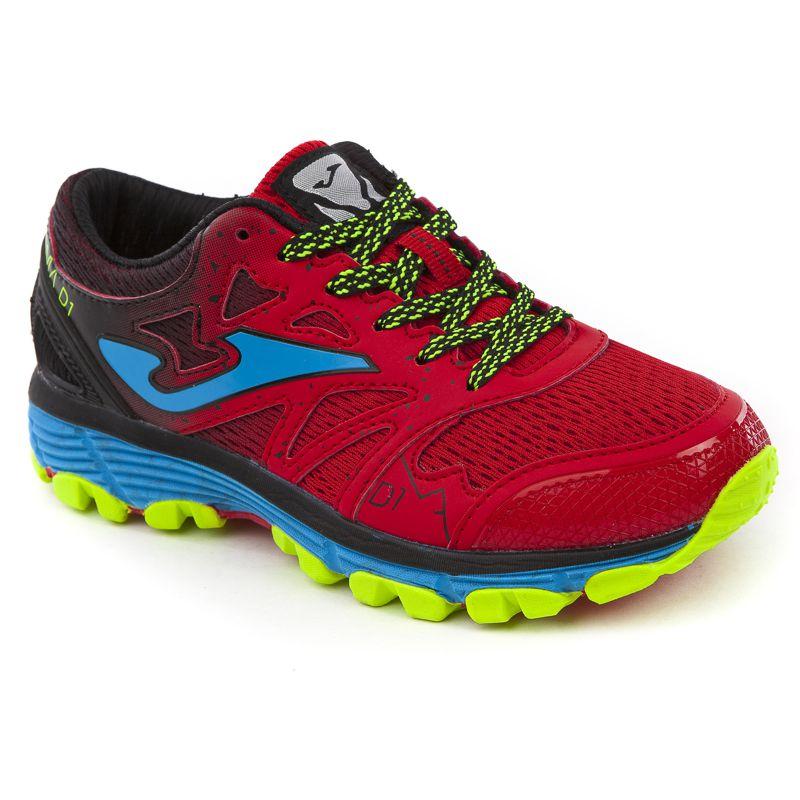 Zapatillas trail de niño JOMA SIMA rojas J.SIMAW-806