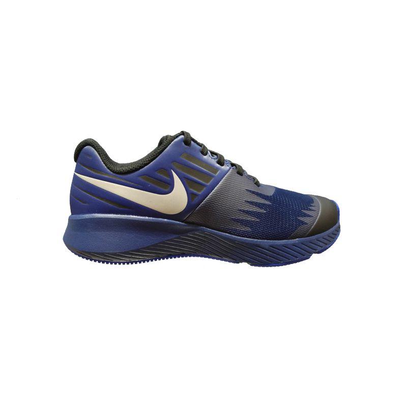 Zapatillas running niño-a NIKE STAR RUNNER REFLECTIVE marino AV4471-400