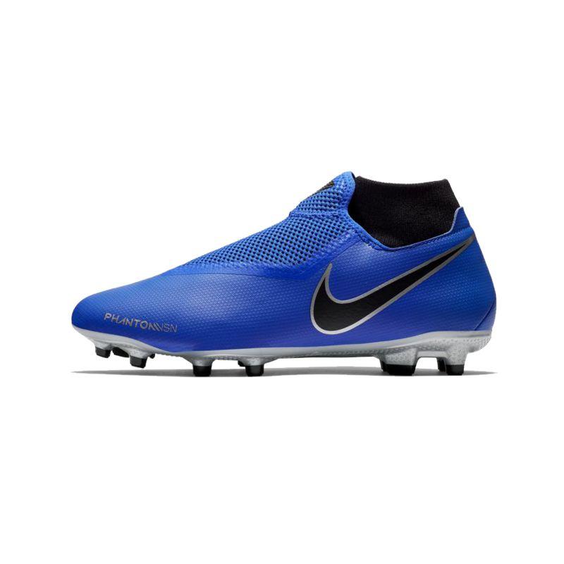 Bota de fútbol multitaco NIKE PHANTOM VISION ACADEMY DINAMIC FIT azul AO3258-400