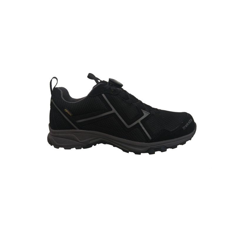 Zapato de montaña TREKSTA STAR BOA 102 LOW negro 18017M