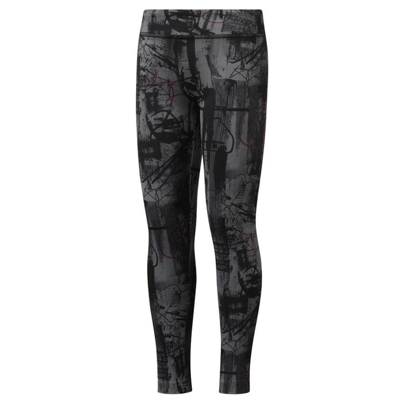 Leggings de niña REEBOK ADVENTURE WORKOUT READY negra DH4310
