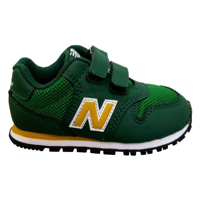 Zapatillas de niño-a pequeño NEW BALANCE 500 verdes IV500YG