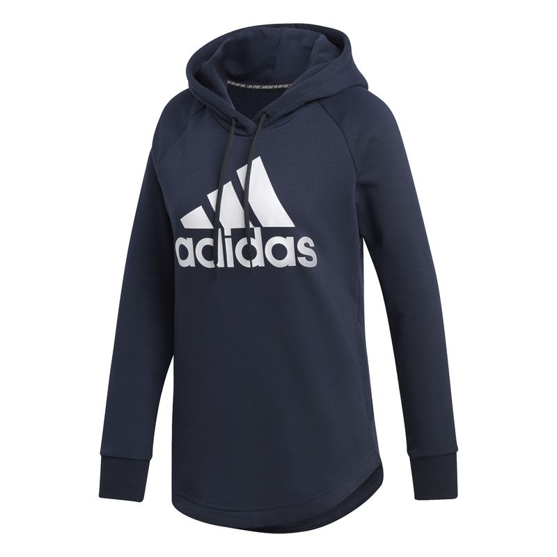 Sudadera de mujer ADIDAS MUST HAVES BADGE OF SPORTS marino DU0015